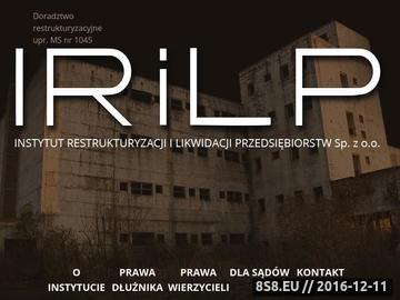 Zrzut strony Restrukturyzacja Tarnów, Rzeszów