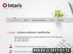 Miniaturka domeny intaris.pl