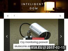 Miniaturka www.inteligentnymonitoring.pl (Inteligentne rozwiązania dla domu)
