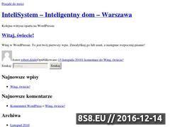 Miniaturka domeny www.intelisystem.pl