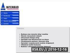 Miniaturka domeny www.interbud.radom.pl