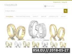 Miniaturka interjubiler.pl (Sprzedaż produktów jubilerskich)