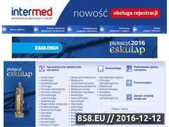 Miniaturka domeny www.intermed.pl
