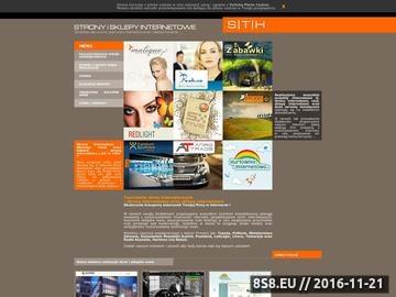 Zrzut strony Tworzenie sklepów internetowych Gdynia