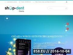 Miniaturka internetowystomatolog.pl (Stomatologiczny sklep Shop Dent Gdańsk)