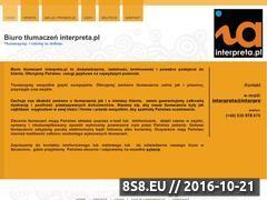 Miniaturka domeny www.interpreta.pl
