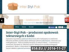 Miniaturka domeny www.interstylpak.pl
