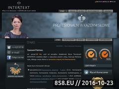 Miniaturka domeny www.intertext.com.pl