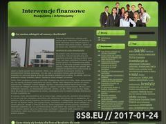 Miniaturka domeny www.interwencjafinansowa.pl