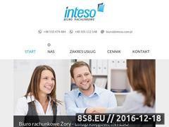 Miniaturka domeny www.inteso.com.pl