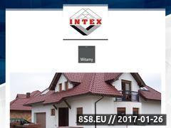 Miniaturka domeny www.intex-bud.pl