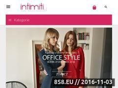 Miniaturka domeny www.intimiti.pl