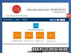 Miniaturka domeny www.intrastat24.pl