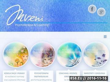 Zrzut strony Pomoc Psychologiczna i Psychoterapia - Pracownia INVENI w Krakowie i Tarnowie
