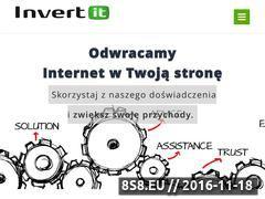 Miniaturka www.invert-it.pl (Administracja systemami)