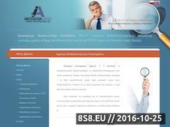 Miniaturka Usługi detektywistyczne (www.investigation.pl)