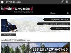 Miniaturka domeny inwestujwzakopanem.pl