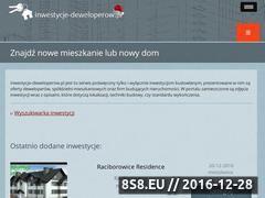 Miniaturka inwestycje-deweloperow.pl (Nowe mieszkania oraz domy)
