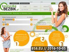 Miniaturka domeny ipozyczkabezbik.pl