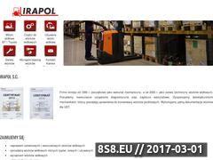 Miniaturka domeny www.irapol.com.pl