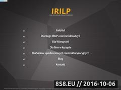 Miniaturka Syndyk oraz doradca restrukturyzacyjny (irilp.pl)