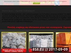 Miniaturka irtrans24.pl (Oferta wywozu gruzu i odpadów budowlanych)