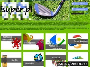Zrzut strony Projektowanie stron WWW-Tworzenie Stron internetowych-iSuper.pl-Gołdap i okolice