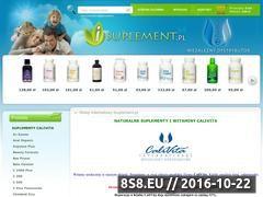 Miniaturka domeny www.isuplement.pl