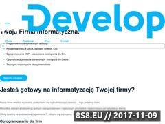 Miniaturka domeny it-develop.pl