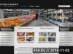 Miniaturka domeny www.italfrost.pl