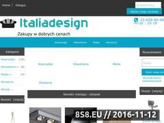 Miniaturka domeny www.italiadesign.pl