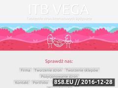 Miniaturka Tworzenie stron internetowych (www.itbvega.pl)