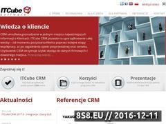 Miniaturka itcube.pl (System CRM)