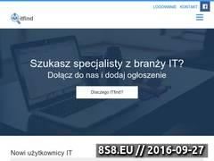 Miniaturka itfind.pl (Oferty pracy i stażu w IT)