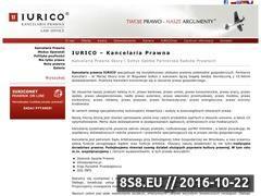 Miniaturka domeny www.iurico.pl