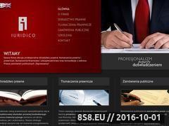 Miniaturka domeny www.iuridico.pl