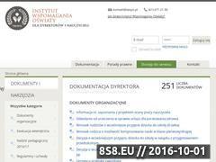 Miniaturka www.iwspo.pl (Dokumentacja szkolna do pobrania)