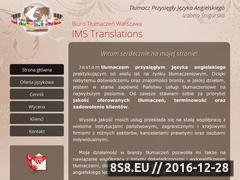 Miniaturka www.izabela-koziel.pl (Tłumaczenia z angielskiego)
