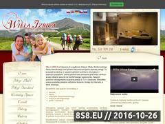 Miniaturka izbica.com.pl (Noclegi Karpacz oraz pensjonat Karpacz)