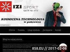 Miniaturka domeny www.izi.biz.pl