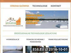 Miniaturka domeny www.izolatormen.pl