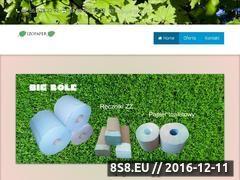 Miniaturka Producent papieru toaletowego (izopaper.pl)