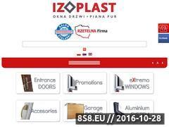 Miniaturka domeny www.izoplast.pl