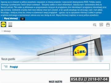 Zrzut strony J-Pop Polska