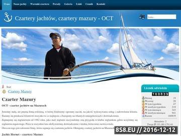 Zrzut strony Czartery jachtów