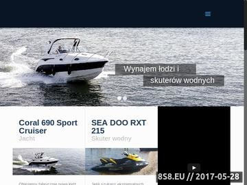 Zrzut strony Wynajem łodzi Gdańsk