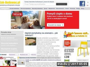 Zrzut strony Materiały budowlane w Jak-Budowac.pl - promocje, ceny, opinie