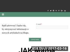 Miniaturka jak-mama.pl (Blog o samotnych matkach)