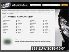 Miniaturka domeny jakazarowka.pl
