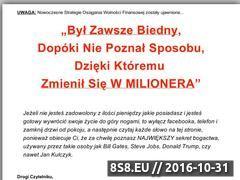 Miniaturka jakbycbogatym.pl (Jak zostać bogatym - przepis na bogactwo)